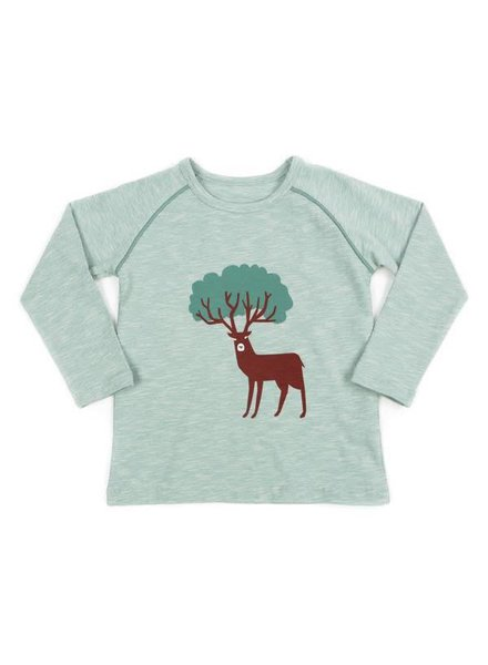 t-shirt BRUNO - sage green