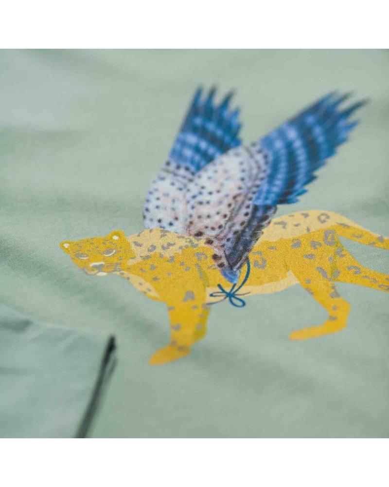 t-shirt Animal Fantastique - sauge