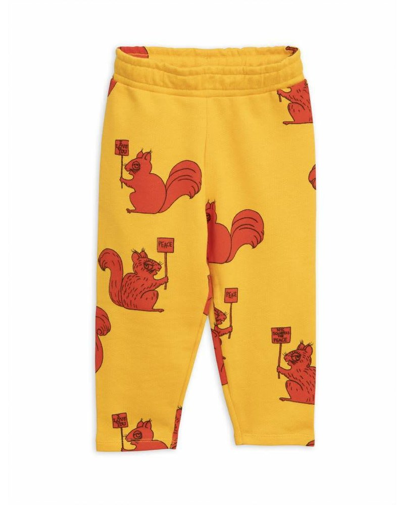 sweatpants  Squirrel - yellow