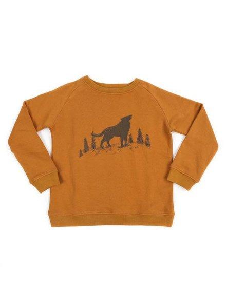 sweater PAVLOV - howling wolf