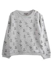 sweater Gris Chine - Renard