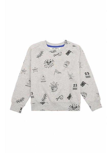 sweater BEX - rainbow neppy teamspirit