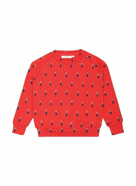 sweater BEX - mars red arrowtips