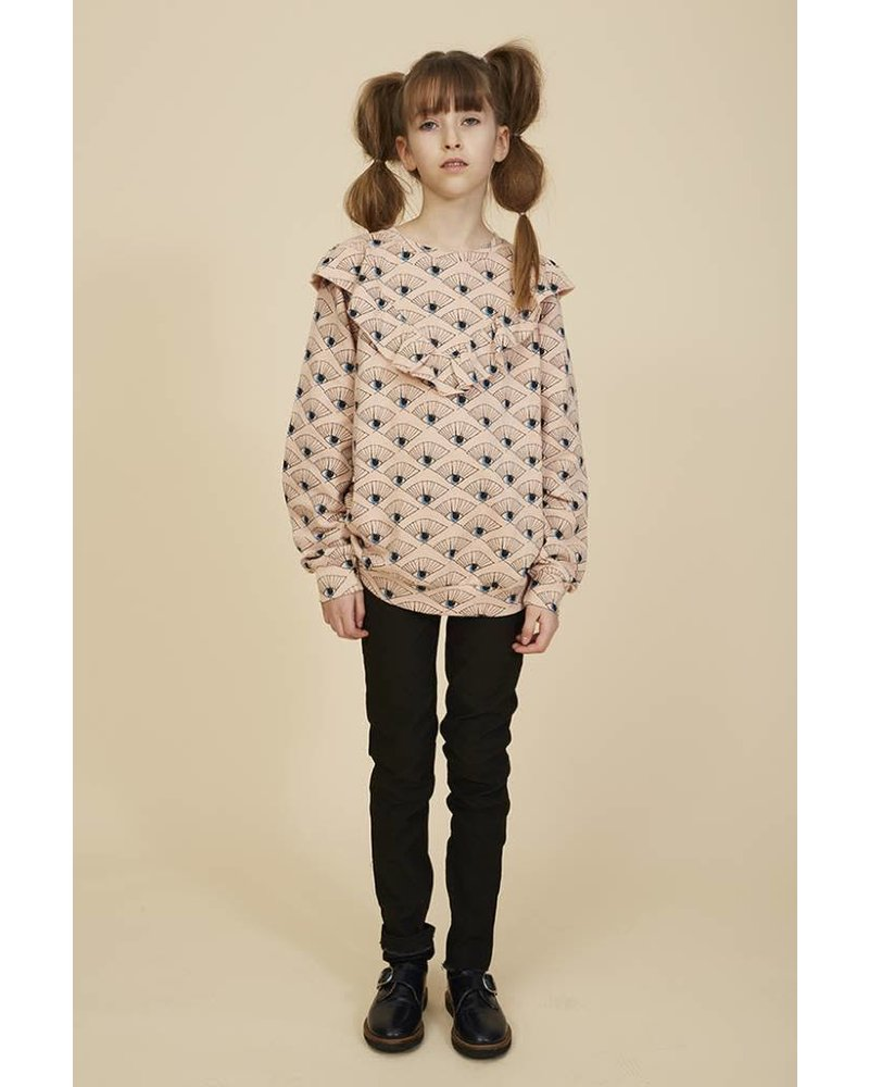 sweater BETSY - rose cloud eyefan