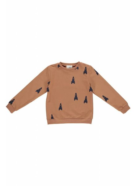 sweater - MADS Cognac Space Racket