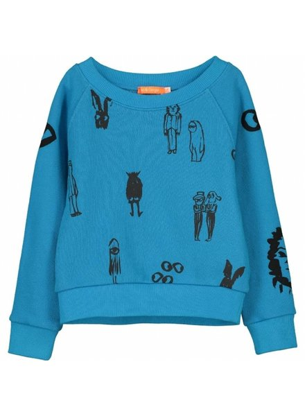 sweater - Bono sports blue