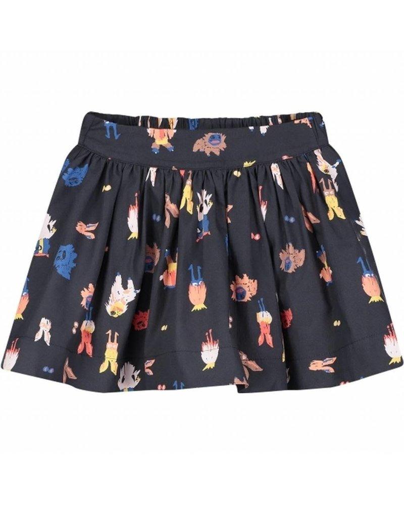 skirt - Suzanne black brightness