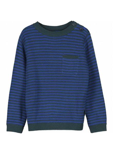 OUTLET // pullover - KIRK vintage blue/green