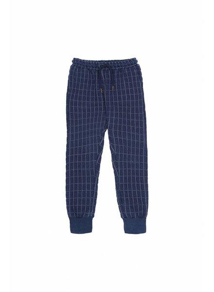 pants JULES - blue quilt