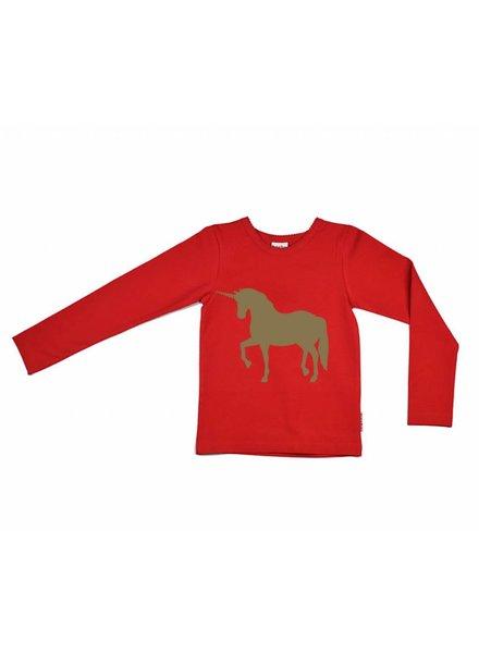 longsleeve Unicorn - red