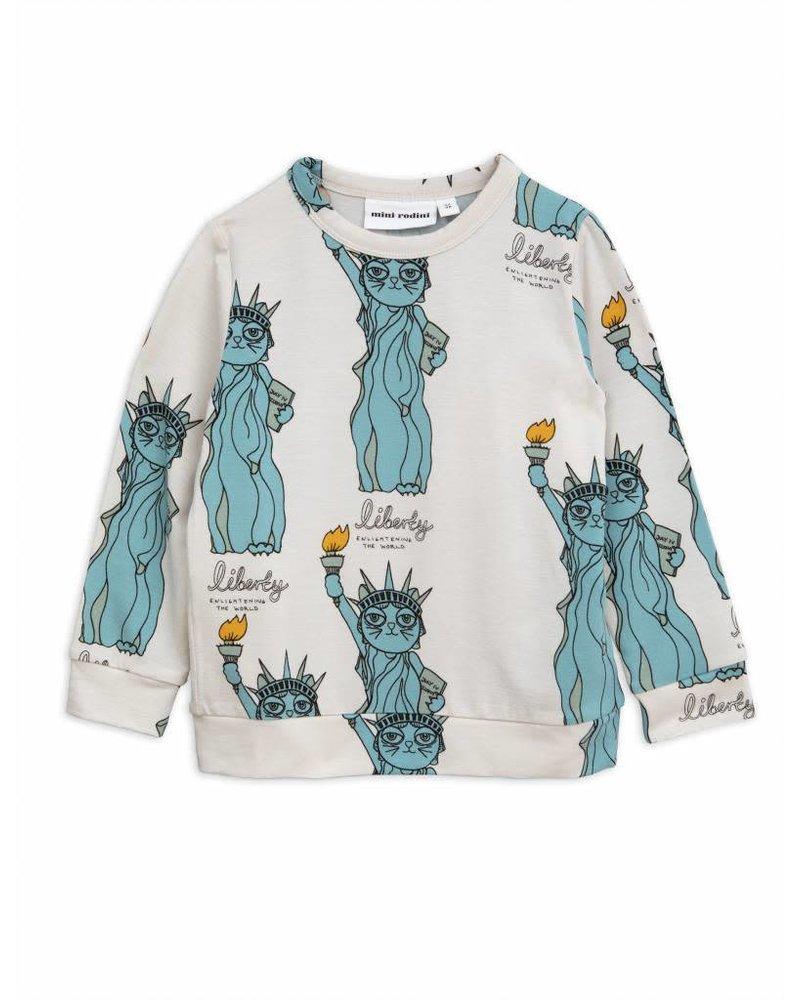 longsleeve Liberty - light grey