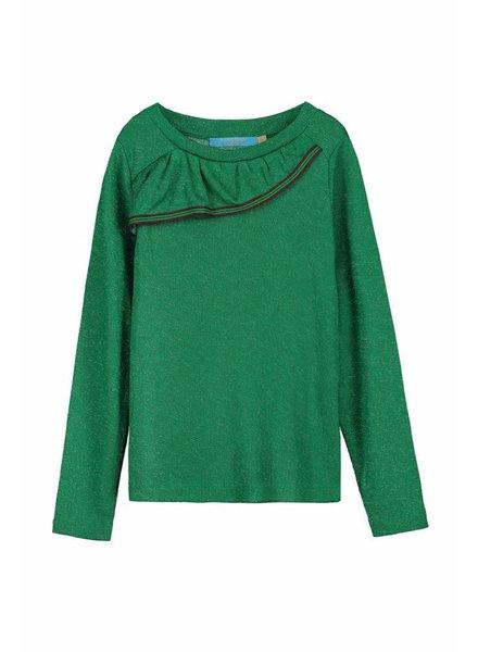 long sleeve - Zarola green lurex