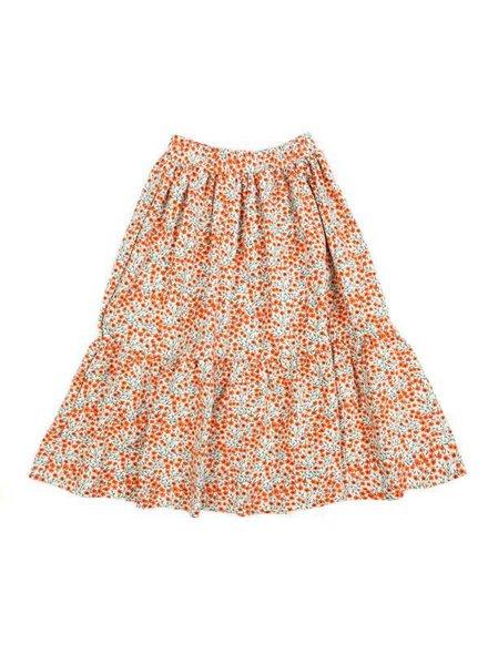 OUTLET // long skirt BENEDICTE - flowers
