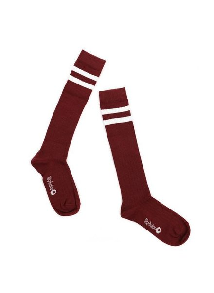 kneesocks JORDAN - brick stripes