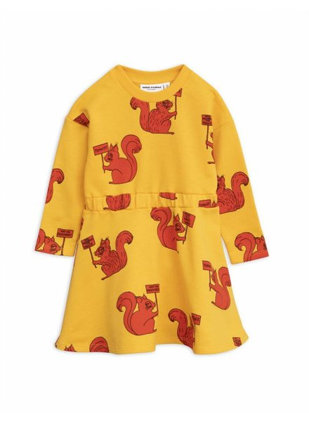 OUTLET // dress Squirrel - yellow