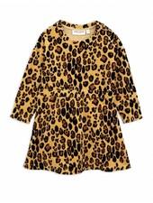 dress Leopard Velour - beige