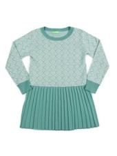 OUTLET // dress CHARLINE - marshmallow/sage green