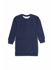 dress APPLE - blue quilt
