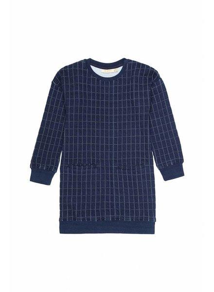 OUTLET // dress APPLE - blue quilt