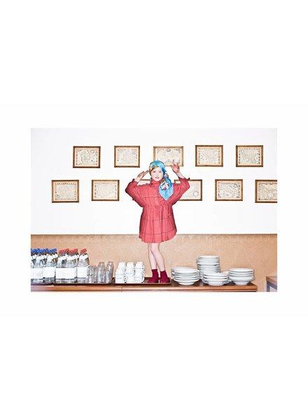 dress - Izumi Memphis Red