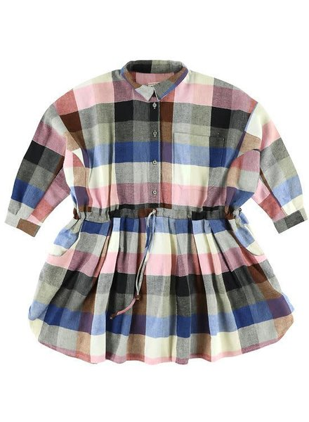 dress - Izumi Kili Bleu/Rose