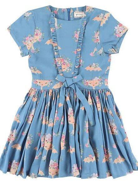 dress - India Parasol Bleu