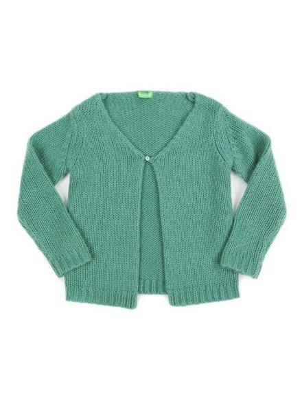 cardigan ELOISE - sage green