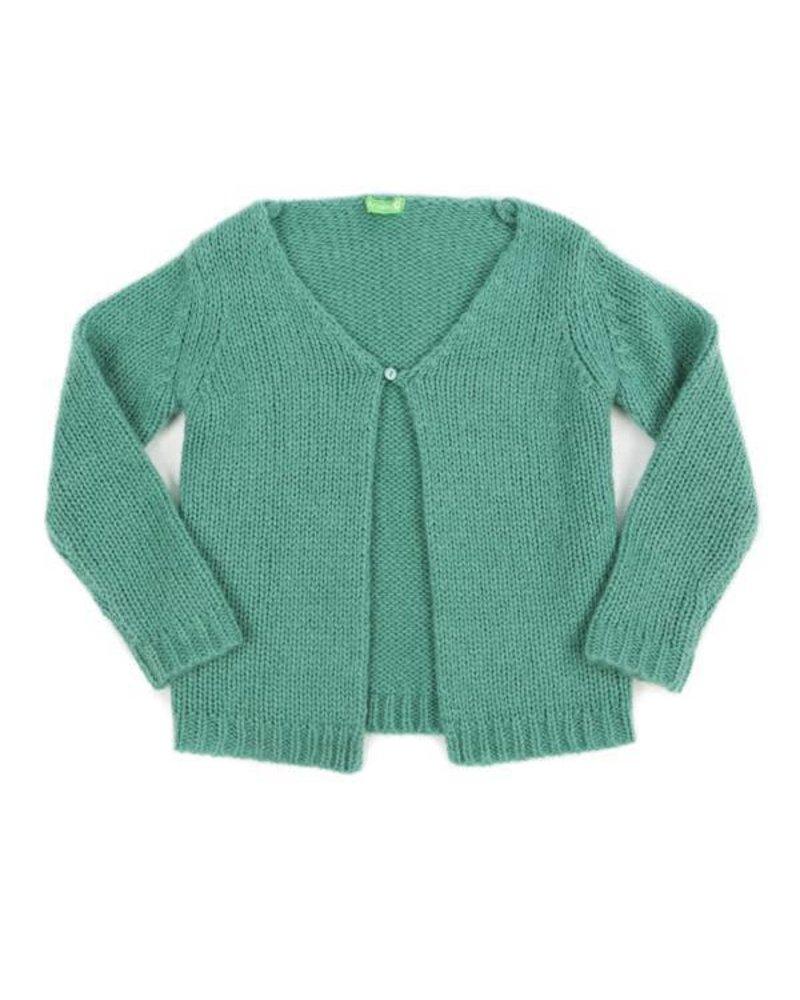OUTLET // cardigan ELOISE - sage green