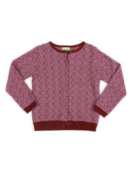 cardigan ALEXE - soft lila/brick