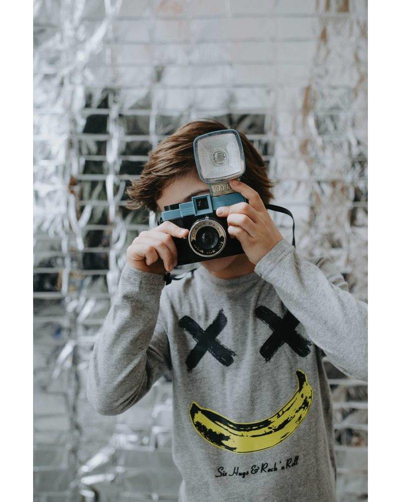 t-shirt Happy Banana Grey