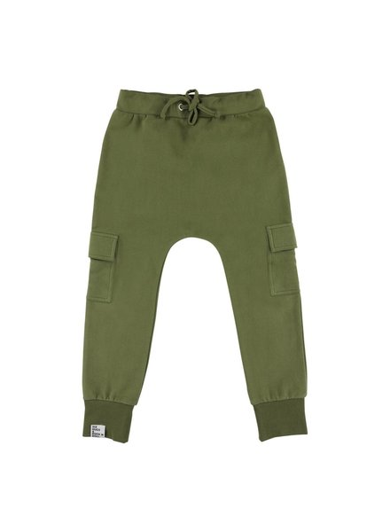 sweatpants Khaki Pockets