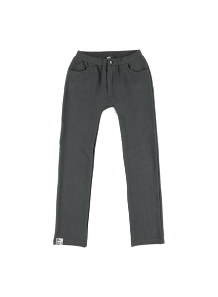 OUTLET // skinny sweatpants Antracite