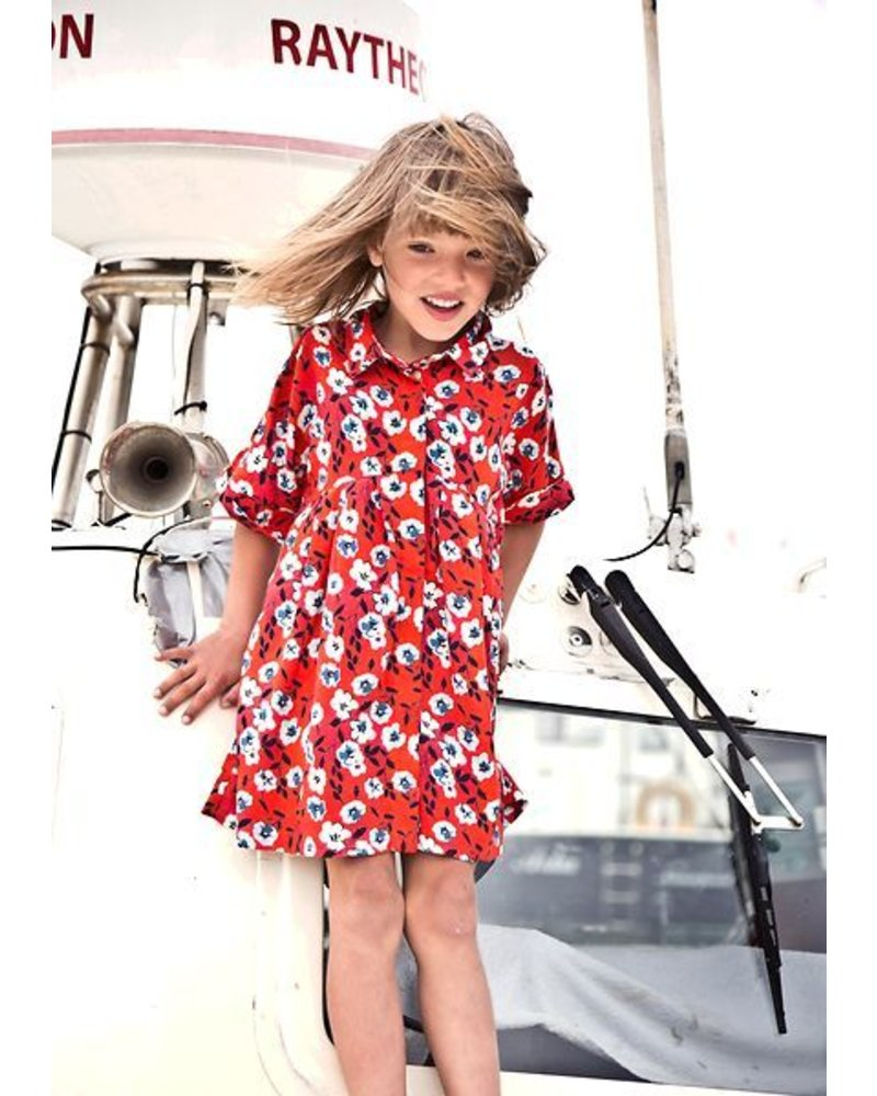 dress - HATSUMI valentina red
