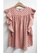 dress - dallas dots rose