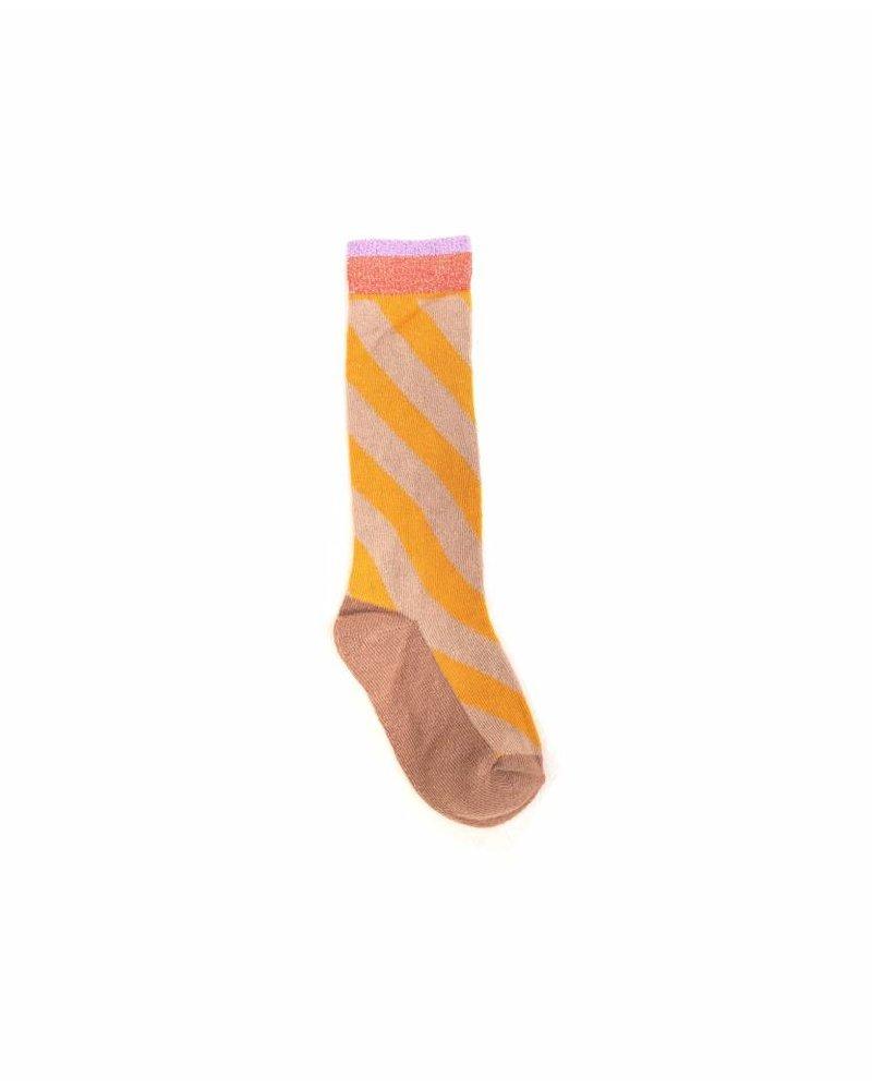 Socks - Yellow triangle