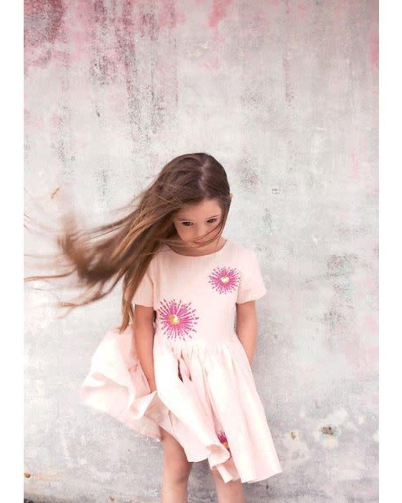 OUTLET // dress - Jelsa crepe rose