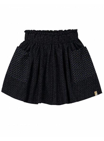 OUTLET // skirt Wonderfull - Marine/Gold