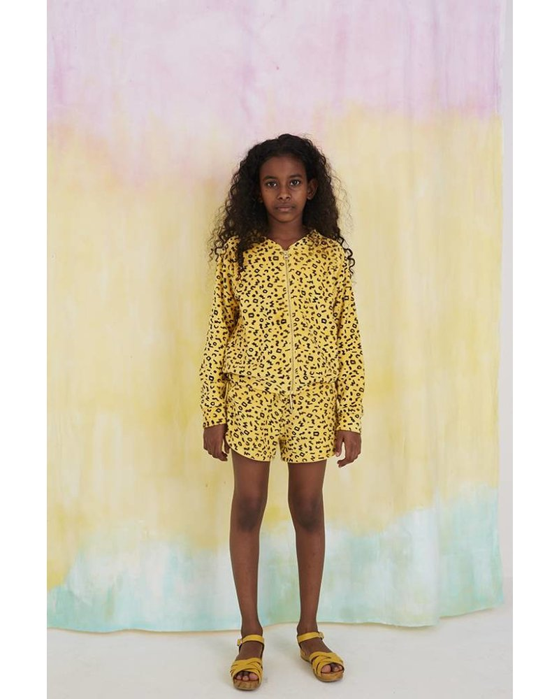 Jacket - Ann scribble mimosa
