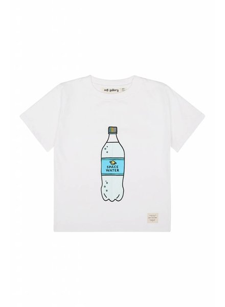 OUTLET // Tshirt - Asger spacewater B white
