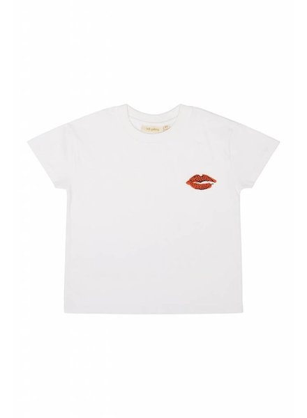 OUTLET // Tshirt - Dharma leolips white