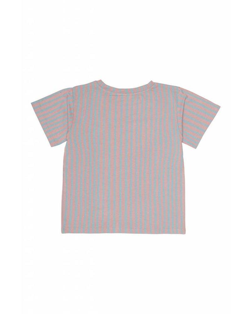 Tshirt - Dominique lines moonchild kiss