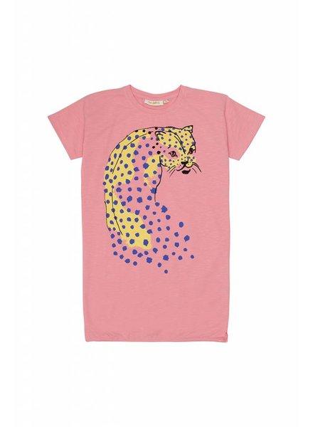 OUTLET // Dress - Yoko dotleo pink icing