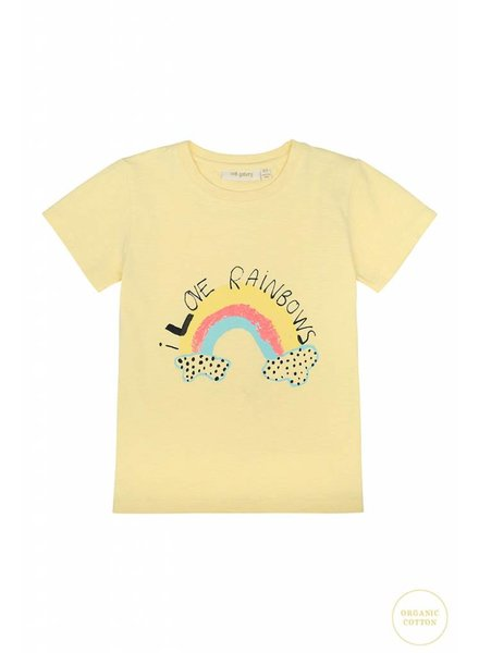 OUTLET // Tshirt - Bass rainbow french vanilla