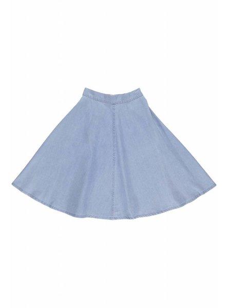 Long Skirt - Greta Light Denim