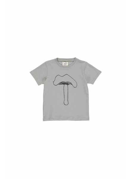 T-shirt - Norr Moss Grey