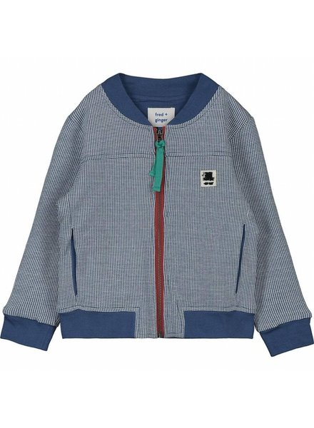 Cardigan - Staff blue