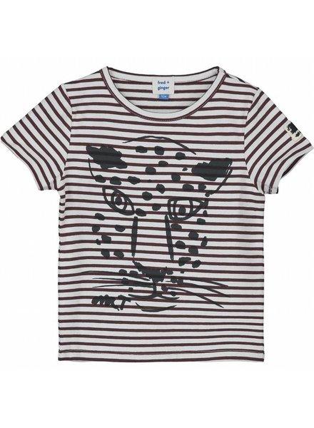 OUTLET // t-shirt - Vinko burgundy