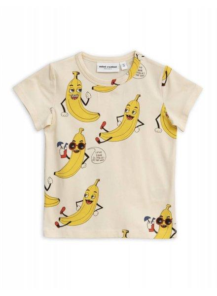 T-shirt - Banana allover offwhite