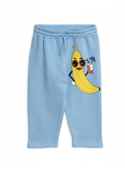 Sweatpants - Banana light blue