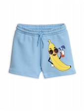 OUTLET // Sweatshorts - Banana light blue